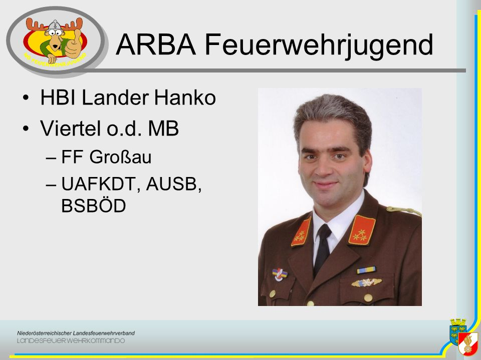 ARBA Feuerwehrjugend HBI Lander Hanko Viertel o.d. MB FF Großau