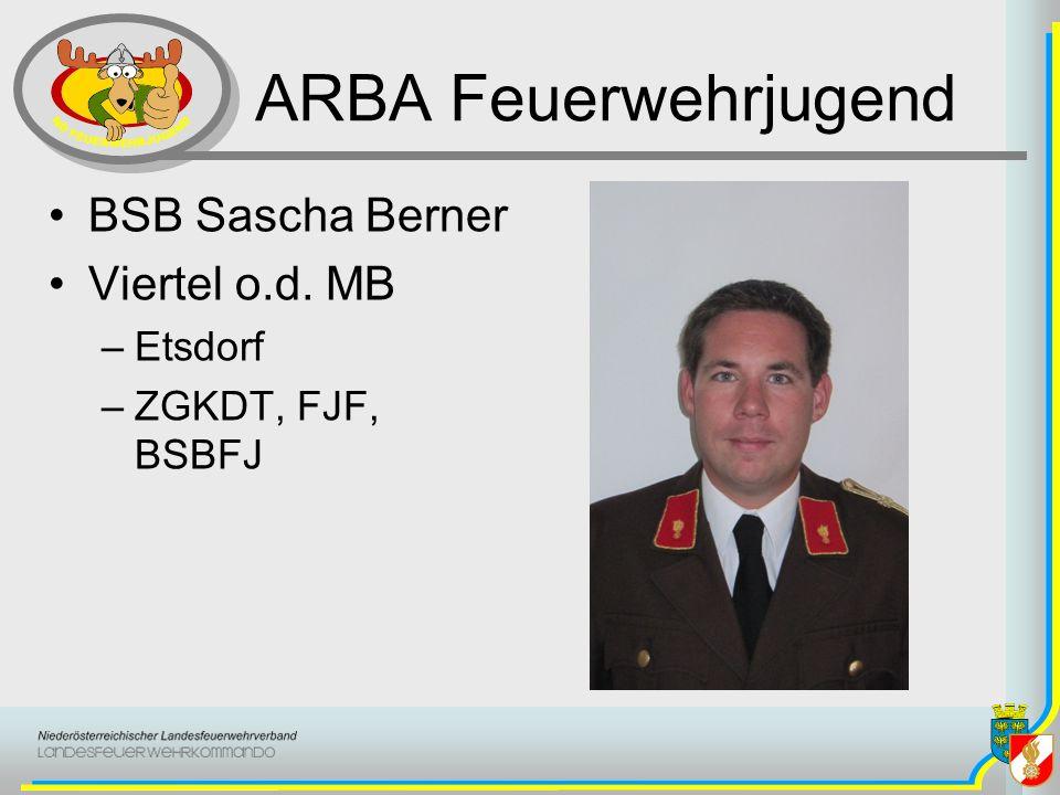 ARBA Feuerwehrjugend BSB Sascha Berner Viertel o.d. MB Etsdorf
