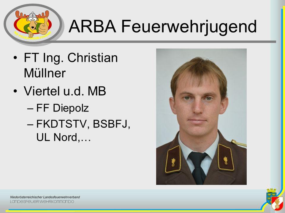 ARBA Feuerwehrjugend FT Ing. Christian Müllner Viertel u.d. MB