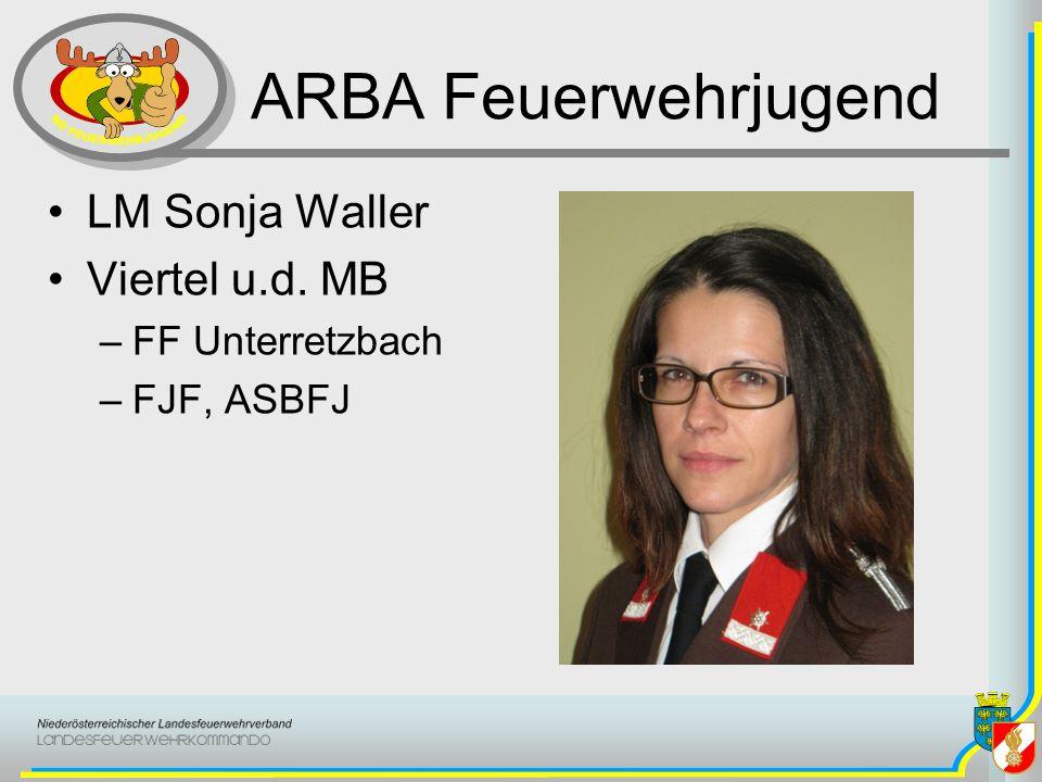 ARBA Feuerwehrjugend LM Sonja Waller Viertel u.d. MB FF Unterretzbach