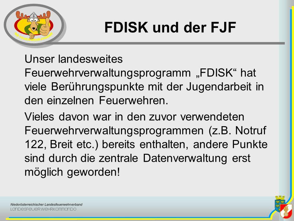 FDISK und der FJF