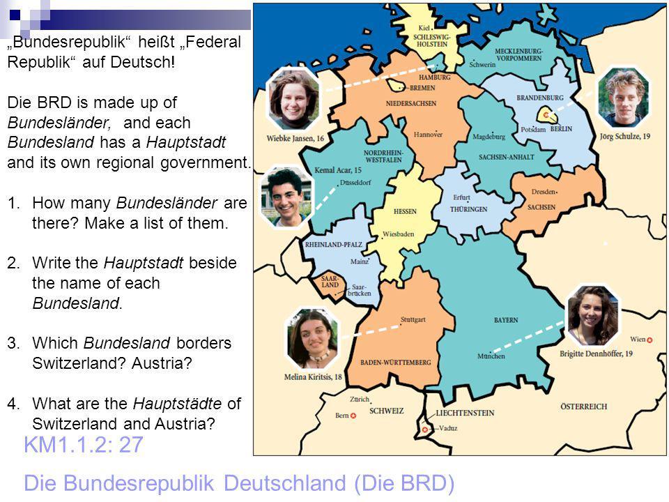KM1.1.2: 27 Die Bundesrepublik Deutschland (Die BRD)