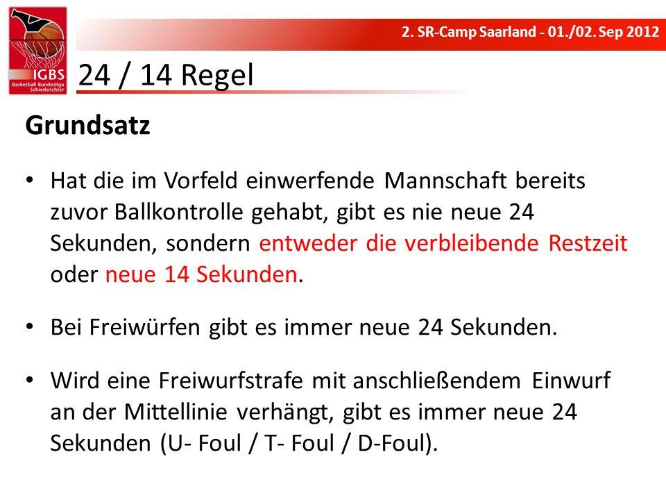 24 / 14 Regel Grundsatz.
