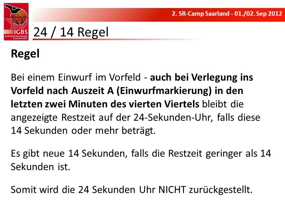 24 / 14 RegelRegel.