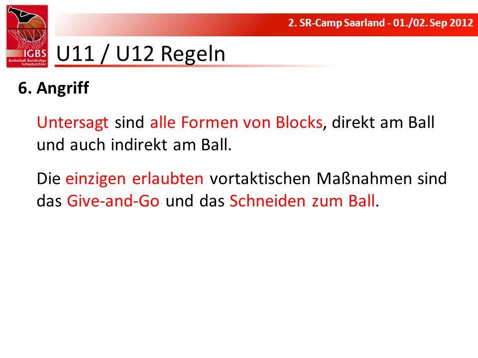 U11 / U12 Regeln