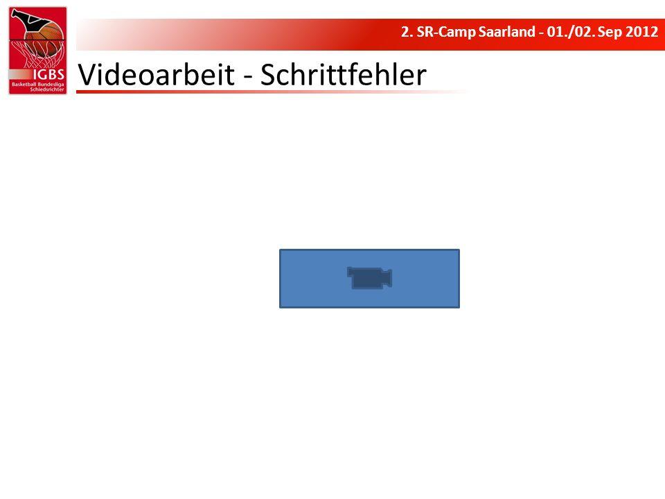 Videoarbeit - Schrittfehler