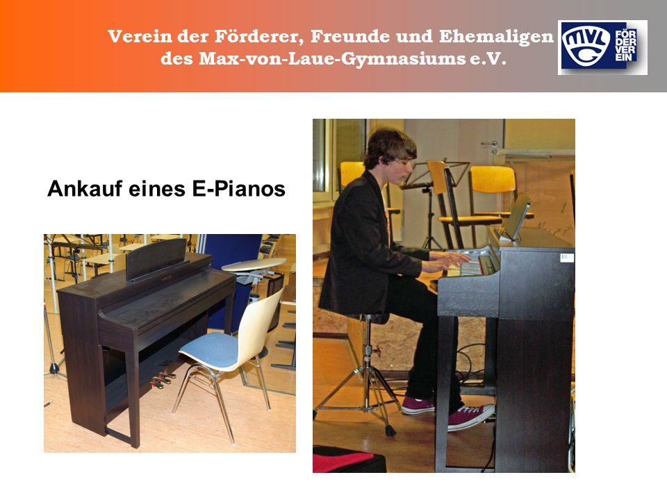 Ankauf eines E-Pianos