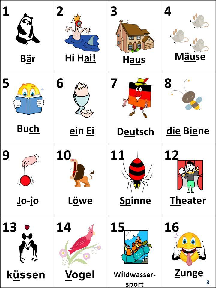 1 2 3 4 5 6 7 8 9 10 11 12 13 14 15 16 Hi Hai! Mäuse Bär Haus Buch