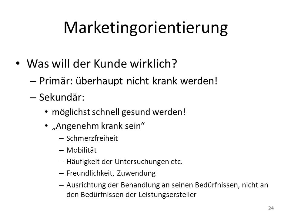 Marketingorientierung