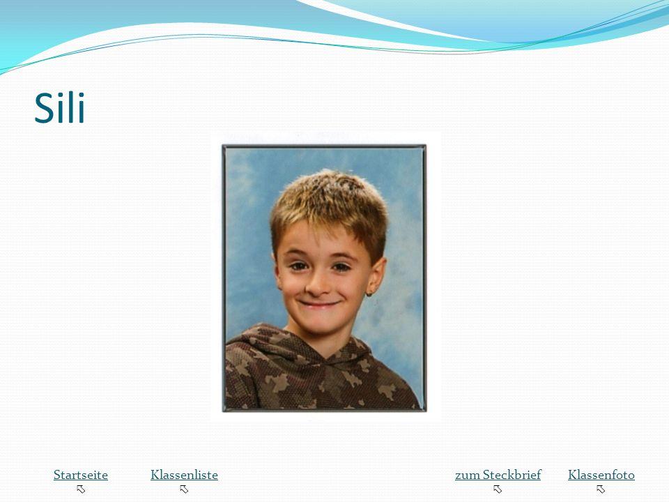 Sili Startseite  Klassenliste zum Steckbrief Klassenfoto