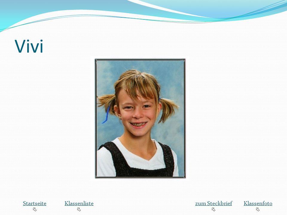 Vivi Startseite  Klassenliste zum Steckbrief Klassenfoto