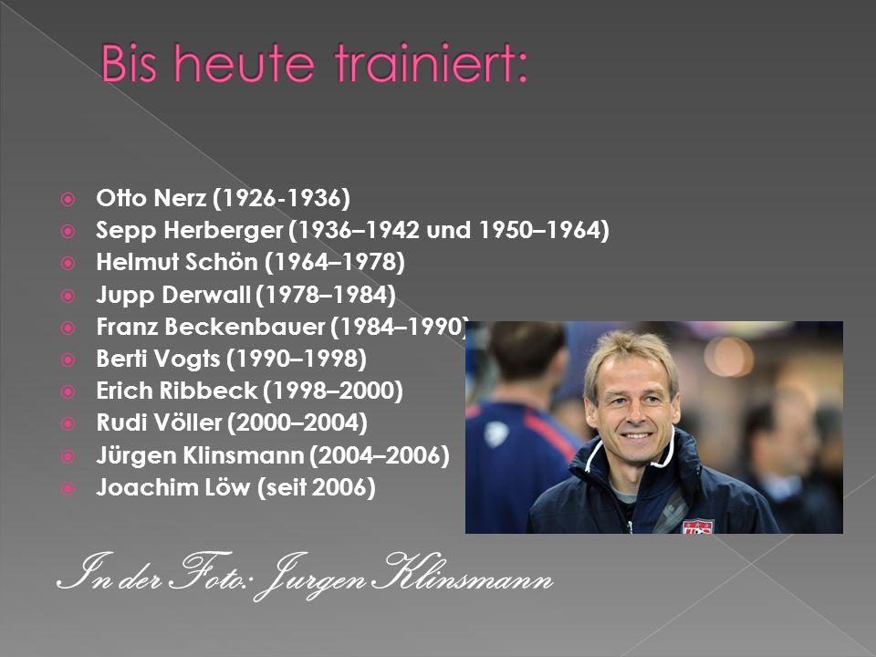 In der Foto: Jurgen Klinsmann