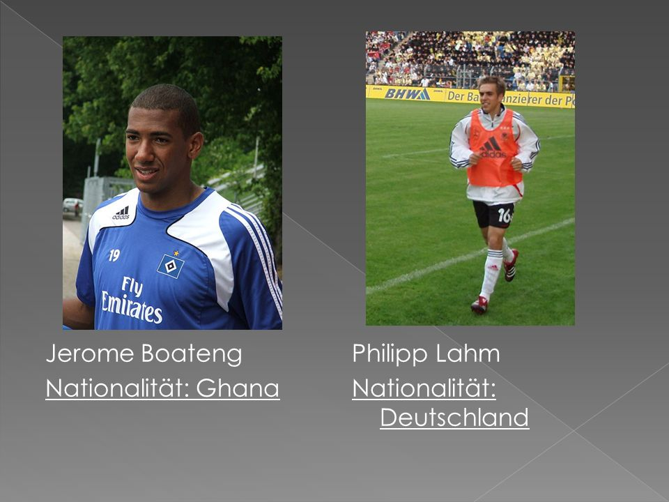 Jerome Boateng Nationalität: Ghana