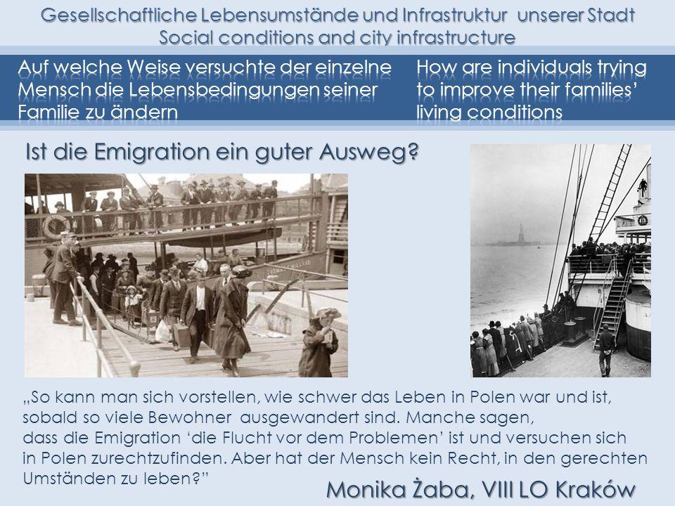 Ist die Emigration ein guter Ausweg