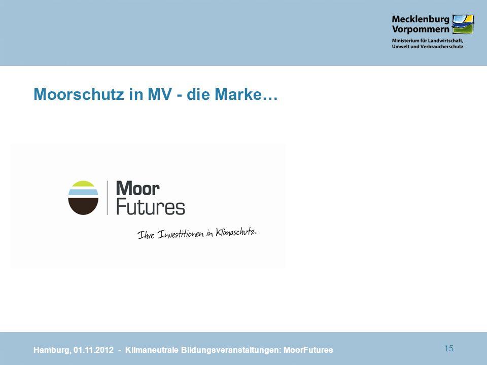 Moorschutz in MV - die Marke…