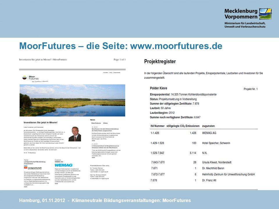 MoorFutures – die Seite: www.moorfutures.de