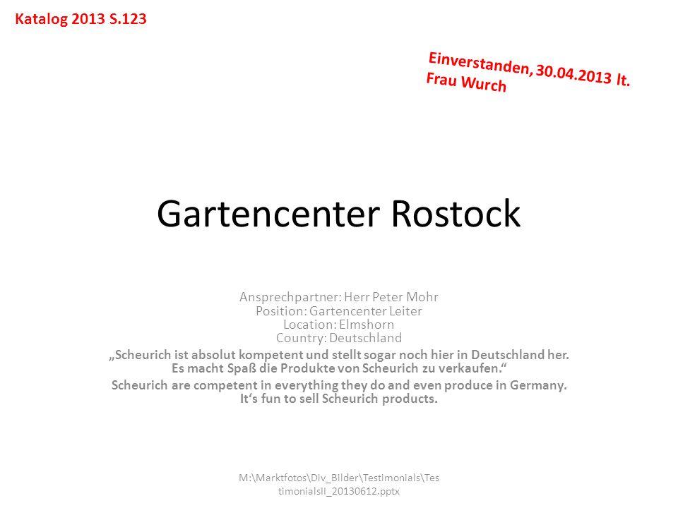 Gartencenter Rostock Katalog 2013 S.123
