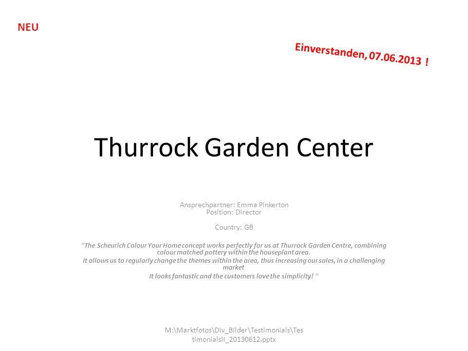 Thurrock Garden Center