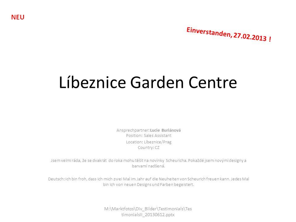 Líbeznice Garden Centre