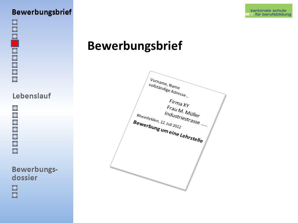 Bewerbungsbrief Bewerbungsbrief Firma XY Frau M. Müller