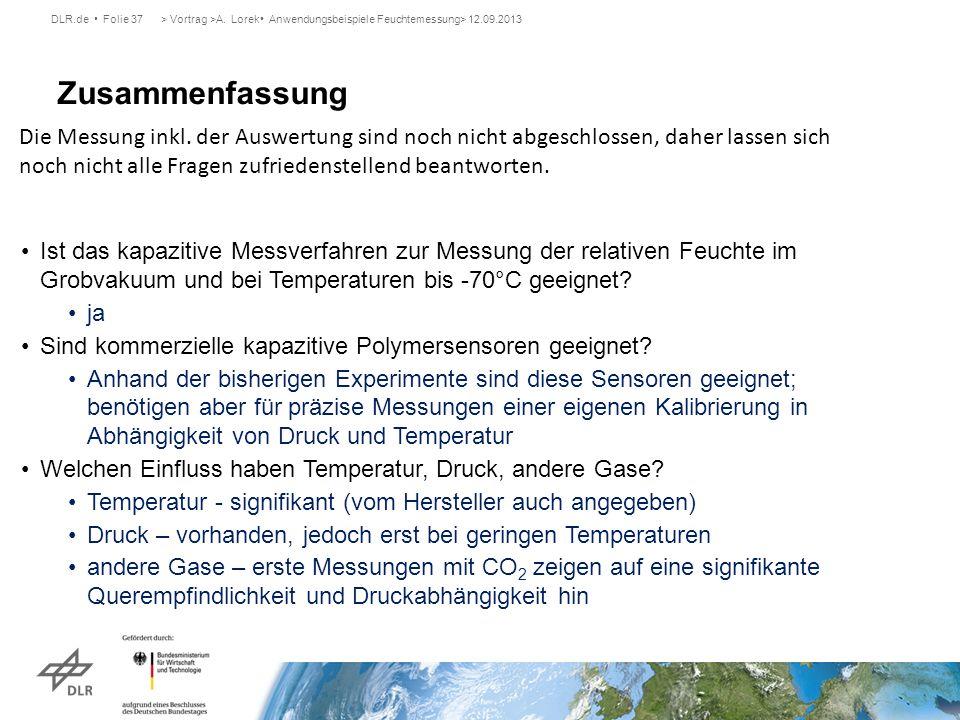 > Vortrag >A. Lorek• Anwendungsbeispiele Feuchtemessung> 12