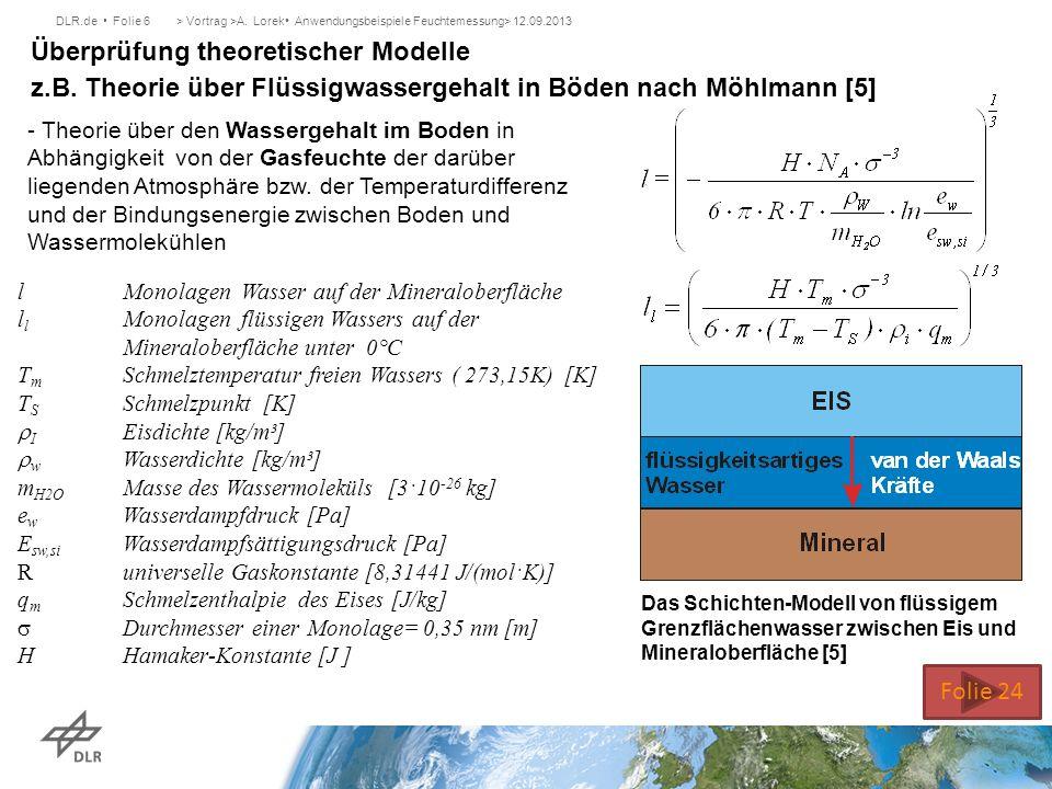 Überprüfung theoretischer Modelle