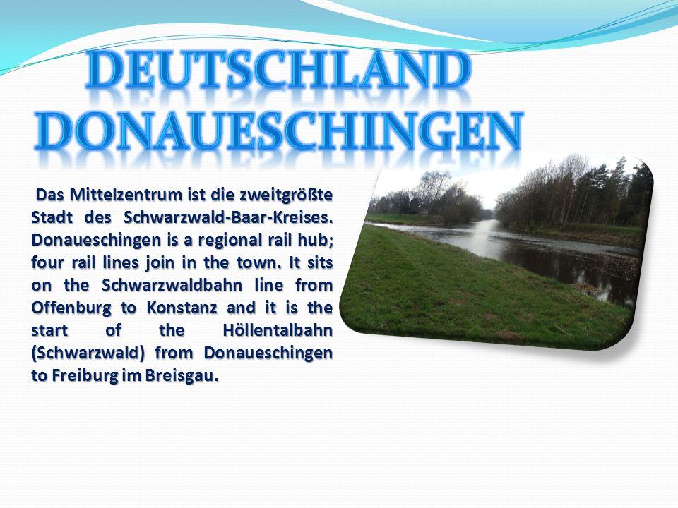 Deutschland Donaueschingen