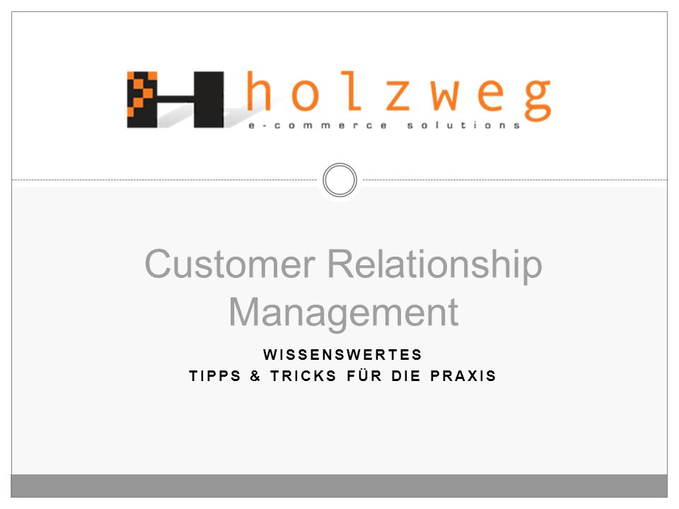 Customer Relationship Management - ppt video online herunterladen