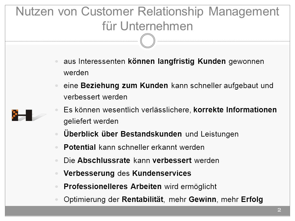 Nutzen von Customer Relationship Management für Unternehmen