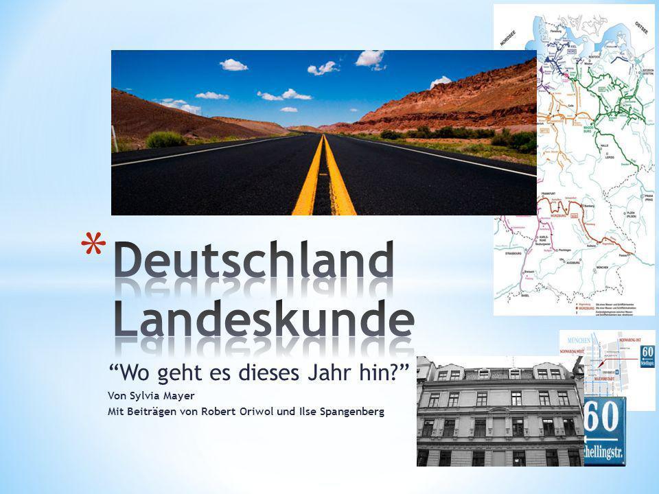 Deutschland Landeskunde