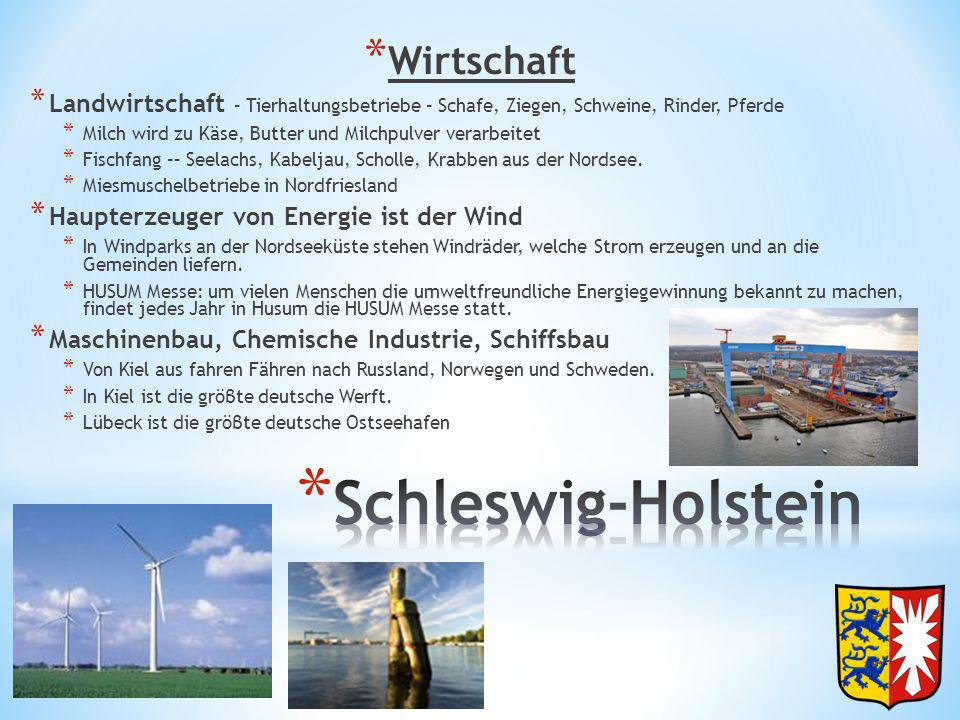 Schleswig-Holstein Wirtschaft