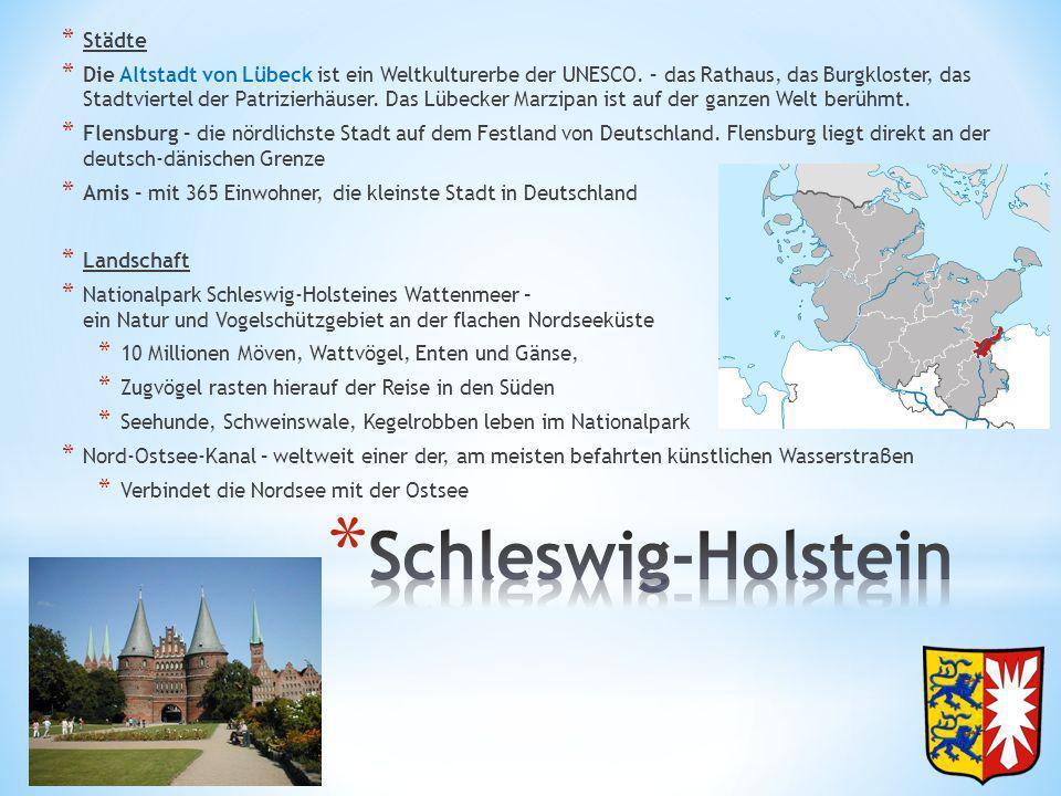 Schleswig-Holstein Städte