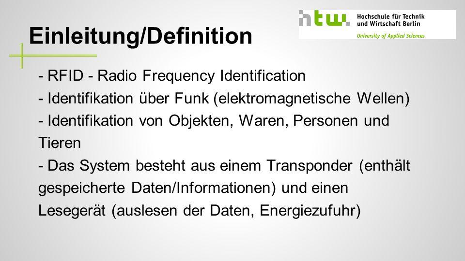 Einleitung/Definition