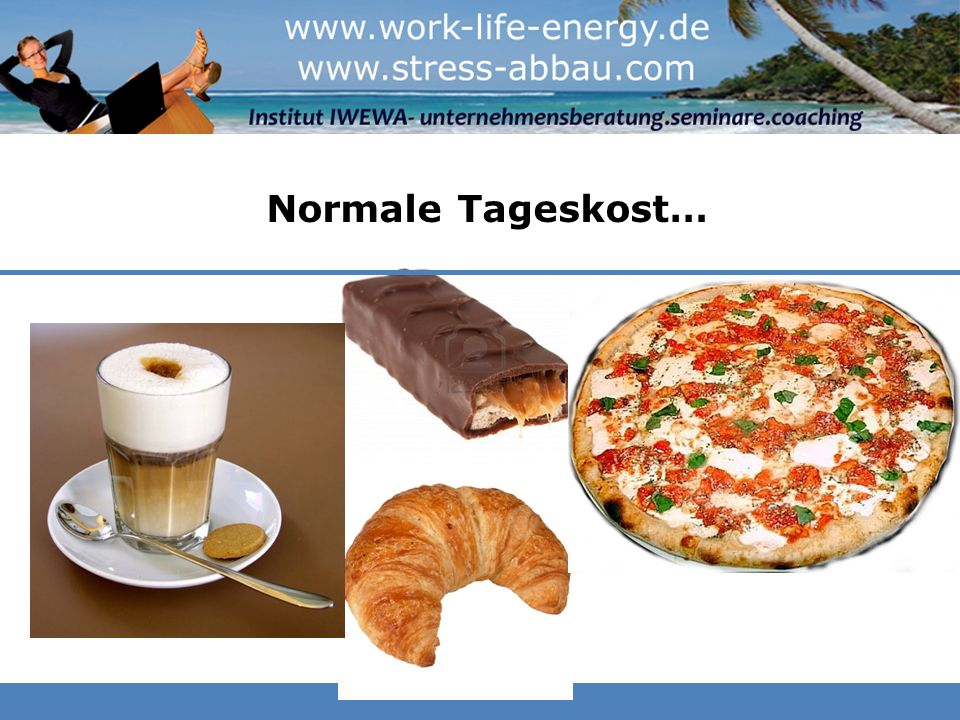 Normale Tageskost…