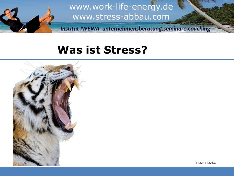 Was ist Stress Foto: Fotolia