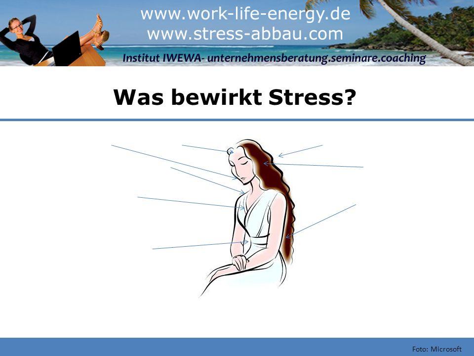 Was bewirkt Stress Foto: Microsoft