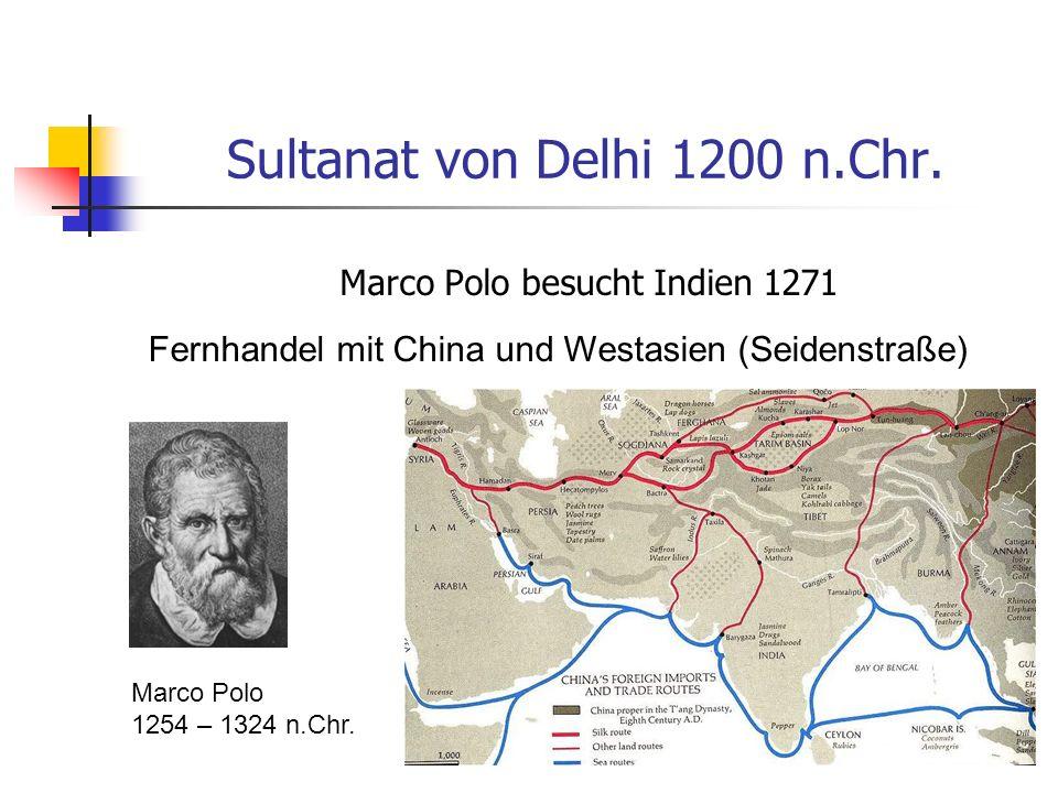 Sultanat von Delhi 1200 n.Chr.