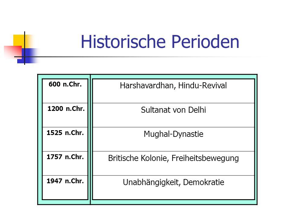 Historische Perioden Harshavardhan, Hindu-Revival Sultanat von Delhi