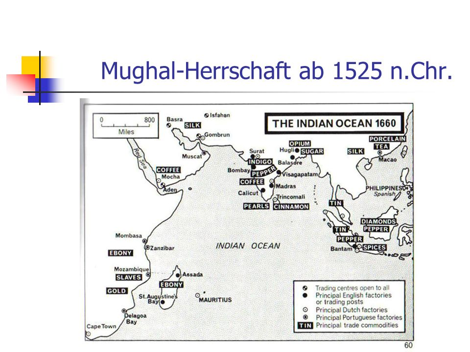 Mughal-Herrschaft ab 1525 n.Chr.