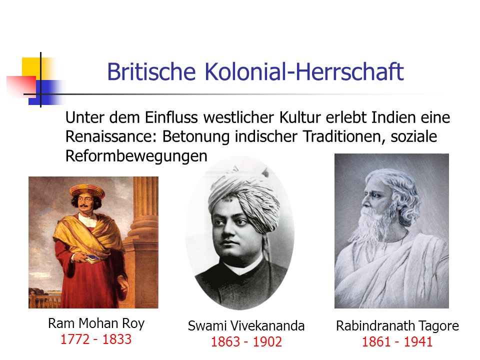 Britische Kolonial-Herrschaft