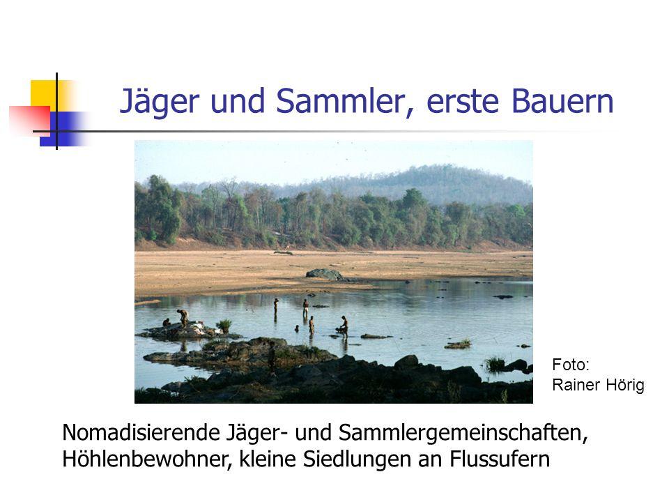 Jäger und Sammler, erste Bauern