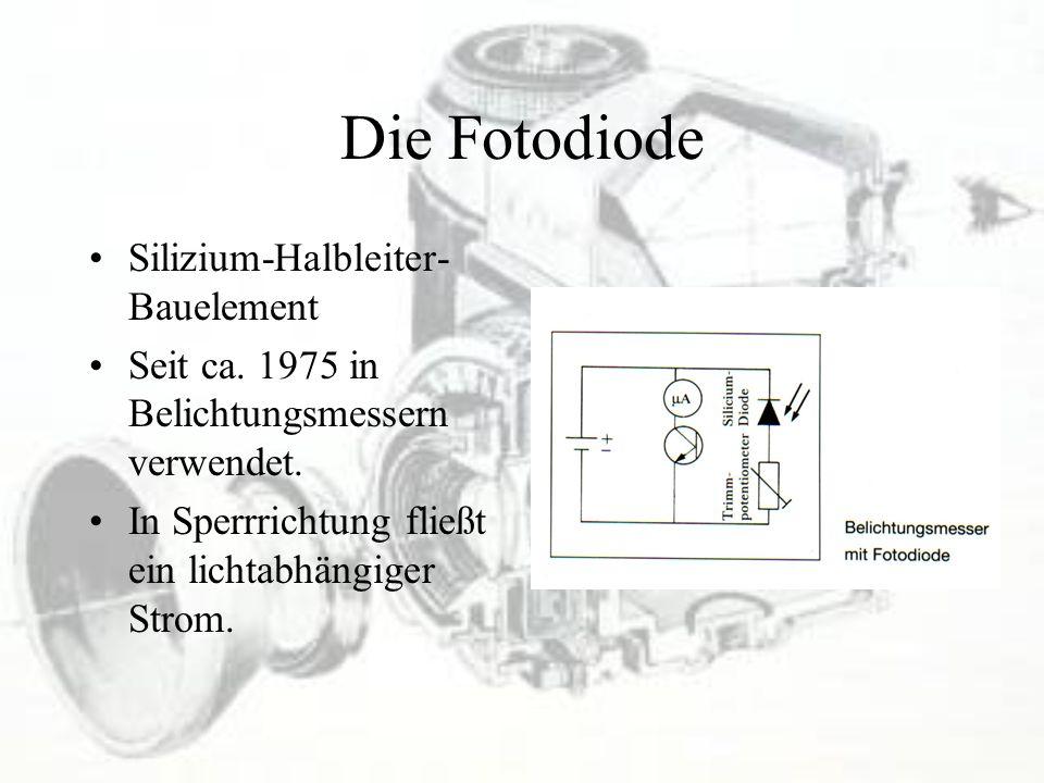 Die Fotodiode Silizium-Halbleiter-Bauelement