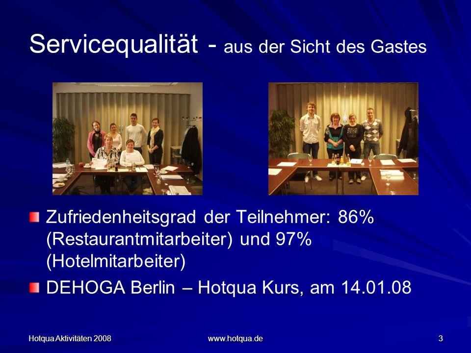 Servicequalität - aus der Sicht des Gastes