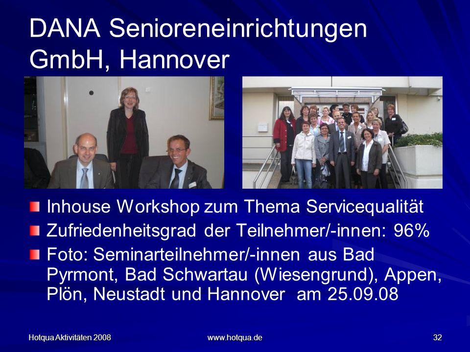 DANA Senioreneinrichtungen GmbH, Hannover