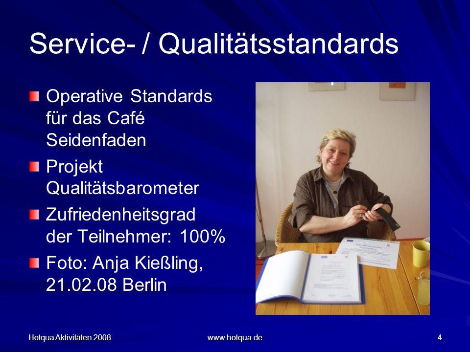 Service- / Qualitätsstandards