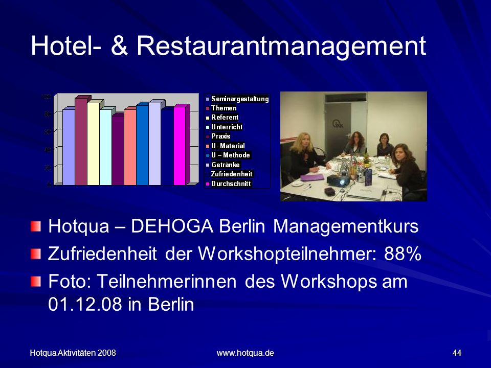 Hotel- & Restaurantmanagement