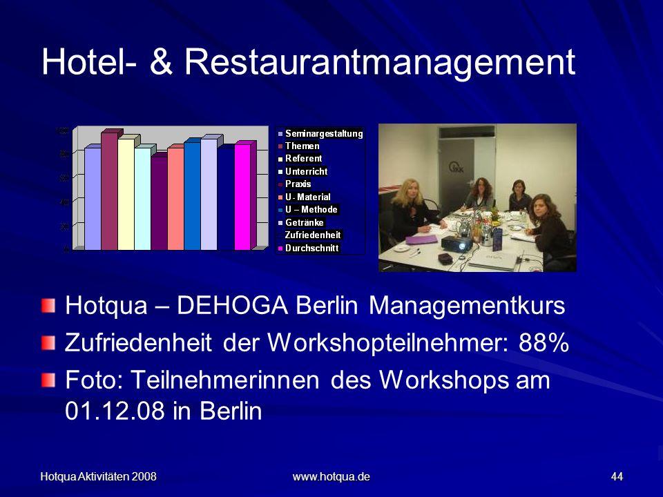 Hotel- & Restaurantmanagement