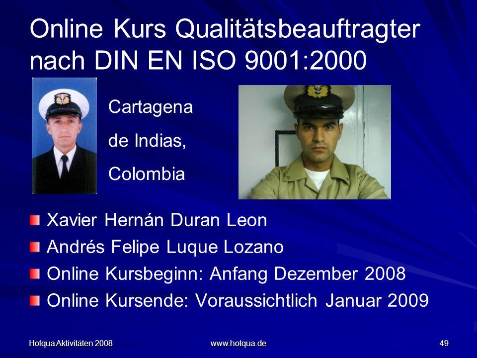 Online Kurs Qualitätsbeauftragter nach DIN EN ISO 9001:2000