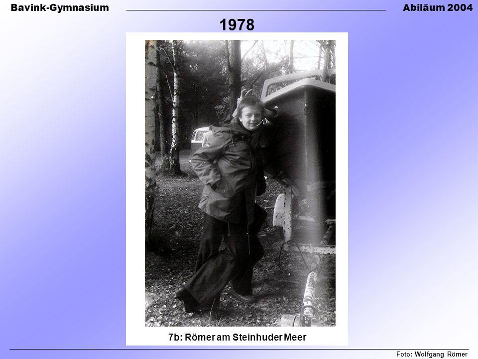 7b: Römer am Steinhuder Meer