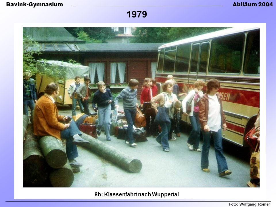 8b: Klassenfahrt nach Wuppertal